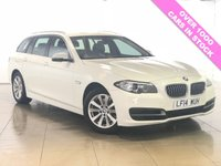 USED 2014 14 BMW 5 SERIES 2.0 520D SE TOURING 5d AUTO 181 BHP One Owner/Sat Nav/Leather