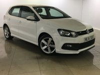 USED 2014 14 VOLKSWAGEN POLO 1.2 R-LINE STYLE AC 5d 60 BHP