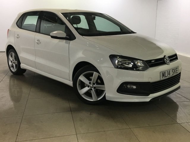 View our 2014 14 VOLKSWAGEN POLO 1.2 R-LINE STYLE AC 5d 60 BHP