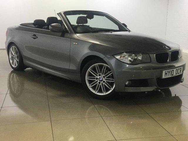 View our 2010 10 BMW 1 SERIES 2.0 118D M SPORT 2d AUTO 141 BHP