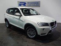 USED 2011 11 BMW X3 2.0 XDRIVE20D SE 5d 181 BHP