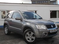 2006 SUZUKI GRAND VITARA 1.6 VVT PLUS 3d 105 BHP £SOLD