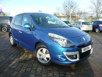 2011 RENAULT SCENIC 1.5 DYNAMIQUE TOMTOM DCI 5d 110 BHP £SOLD