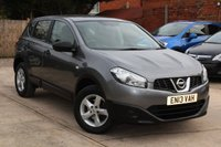 USED 2013 13 NISSAN QASHQAI 1.6 VISIA 5d 117 BHP **** BEAUTIFUL CONDITION  ****
