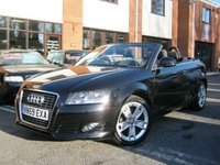 USED 2009 59 AUDI A3 1.6 TDI SPORT Convetrible DIESEL,£30 YEAR TAX,OVER 70MPG!!!
