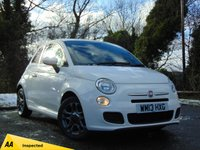 USED 2013 13 FIAT 500 1.2 S 3d * 128 POINT AA INSPECTED *