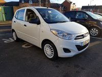 USED 2013 62 HYUNDAI I10 1.2 CLASSIC 5d 85 BHP EXCELLENT FUEL ECONOMY!..LOW CO2 EMISSIONS..£20 ROAD TAX...FULL HISTORY(4 STAMPS)...ONLY 9977 MILES FROM NEW!!..WITH AIR CONDITIONING!