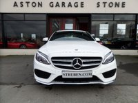 USED 2014 64 MERCEDES-BENZ C CLASS 2.1 C220 BLUETEC AMG LINE 4d AUTO 170 BHP ** NAV * CAMERA ** ** SAT NAV * CAMERA * FM/S/H **
