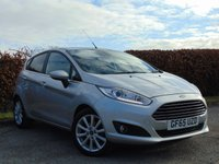 USED 2015 65 FORD FIESTA 1.0 TITANIUM 3d  **12 MONTHS FREE AA MEMBERSHIP**