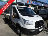 USED 2015 65 FORD TRANSIT 2.2 350 DROPSIDE TWIN WHEEL 125 BHP EXLWB L4 CHOICE EXTRA LONG L4 DROPSIDE TWIN WHEEL CHOICE