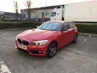 2015 BMW 1 SERIES 1.5 116D SPORT 5d 114 BHP £9791.00