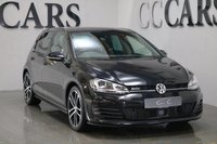 USED 2016 66 VOLKSWAGEN GOLF 2.0 GTD DSG 5d AUTO 182 BHP MMI Satellite Navigation + Bluetooth Telephone Connectivity + DAB Radio, Leather Flat Bottomed Multi Function Steering Wheel with Paddle Shift, Keyless Entry and Drive, Adaptive Cruise Control, Automatic 18 Inch Black and Polished Monza Alloy Wheels, Bi-Xenon Headlights, Front and Rear Park Distance Control, Heated Seats, Heated Electric Powerfold Mirrors, Dual Zone Climate Control