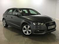 USED 2014 64 AUDI A3 1.6 TDI SPORT 5d AUTO 109 BHP Great Car/Bluetooth/DAB Radio