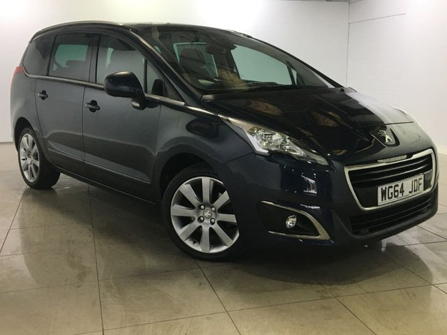 View our 2014 64 PEUGEOT 5008 2.0 HDI ALLURE 5d 150 BHP
