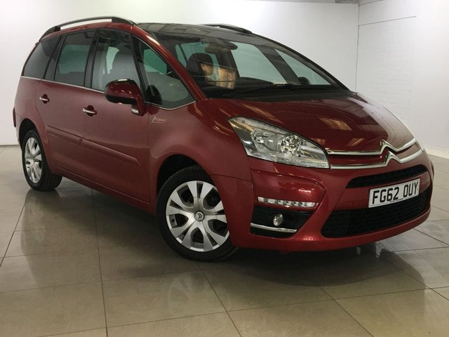 View our 2012 62 CITROEN C4 GRAND PICASSO 1.6 PLATINUM EGS E-HDI 5d AUTO 110 BHP