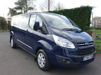 USED 2015 64 FORD TRANSIT CUSTOM 290 LIMITED L2 LWB 2.2Tdci 125Ps Top Of Range LWB Custom Direct From Leasing Company With Full Service History!