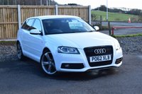 USED 2012 62 AUDI A3 2.0 SPORTBACK TDI S LINE SPECIAL EDITION 5d 138 BHP LOCAL LADY OWNER