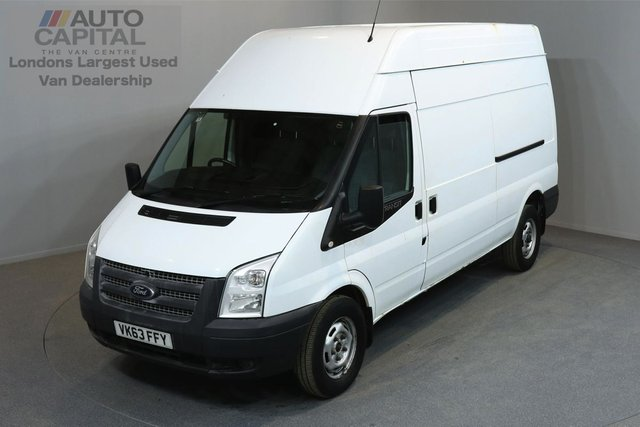2013 63 FORD TRANSIT 2.2 350 H/R 5d 124 BHP LWB RWD  AIR CONDITION ELECTRIC WINDOWS ONE OWNER FROM NEW