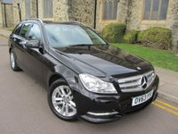 2013 MERCEDES-BENZ C CLASS 2.1 C220 CDI EXECUTIVE SE 5d 168 BHP £7995.00