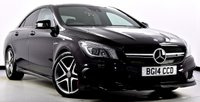 USED 2014 14 MERCEDES-BENZ CLA 2.0 CLA45 AMG Speedshift DCT 4MATIC 4dr AMG Exclusive Pk, COMAND Nav +