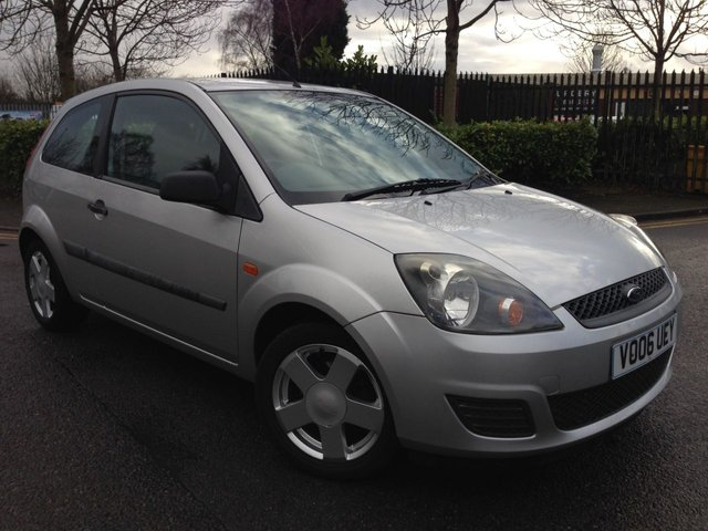2006 06 FORD FIESTA 1.2 STYLE CLIMATE 16V 3d 78 BHP