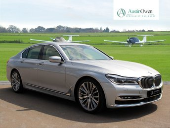2017 BMW 7 SERIES 4.4 750I EXCLUSIVE 4d AUTO 443 BHP £56990.00