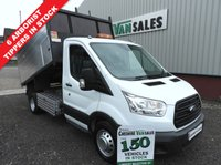 USED 2016 66 FORD TRANSIT 2.2 350 L3  DRW 125 BHP TWIN WHEEL ARBORIST HI SIDE TIPPER CHOICE CHOICE OF TIPPERS ARB HI SIDED  IN STOCK OPEN 7 DAYS
