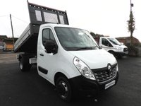 2016 RENAULT MASTER 2.3 ML35 BUSINESS  TIPPER TWIN WHEEL 125 BHP LOW MILES £14995.00