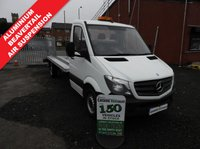 2015 MERCEDES-BENZ SPRINTER 2.1 313 CDI RECOVERY TRUCK 130 BHP AIR SUSPENSION LOW MILES £16995.00