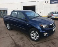 USED 2015 15 SSANGYONG KORANDO SPORTS 2.0TD EX D/C PICK-UP 153 BHP 4WD