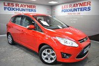 USED 2014 64 FORD C-MAX 1.6 ZETEC TDCI 5d 114 BHP 1 owner, heated windscreen, DAB radio, Rear park sensors