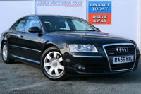 USED 2007 56 AUDI A8 3.0 TDI QUATTRO SE 4d 229 BHP TWO FORMER KEEPERS