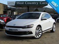 USED 2013 63 VOLKSWAGEN SCIROCCO 2.0 GT DSG 3d AUTO 211 BHP High Quality Performance Coupe