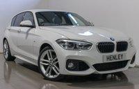 2016 BMW 1 SERIES 2.0 120D M SPORT 5d AUTO 188 BHP £16490.00