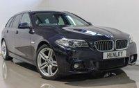 2014 BMW 5 SERIES 2.0 520D M SPORT TOURING 5d AUTO 188 BHP £17990.00