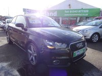 USED 2011 11 AUDI A1 1.6 TDI SPORT 3d 103 BHP ZERO ROAD TAX  ** BLUETOOTH** JUST ARRIVED !