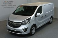 USED 2015 65 VAUXHALL VIVARO 1.6 2900 CDTI SPORTIVE 114 BHP L1 H1 SWB LOW ROOF A/C ONE OWNER FROM NEW, FULL SERVICE HISTORY