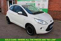 USED 2013 FORD KA 1.2 Edge 3dr [Start Stop] +LOW Tax +Alloys +Serviced.