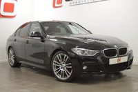 USED 2012 62 BMW 3 SERIES 2.0 320I M SPORT 4d 181 BHP 19 INCH ALLOYS + RED LEATHER + PRIVACY GLASS