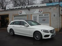 USED 2017 17 MERCEDES-BENZ C CLASS 2.1 C220 D AMG LINE PREMIUM 5d AUTO 170 BHP Fully Loaded Stunning Classey Tourer
