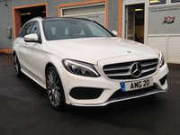 USED 2017 17 MERCEDES-BENZ C-CLASS 2.1 C220 D AMG LINE PREMIUM 5d AUTO 170 BHP Fully Loaded Stunning Classey Tourer