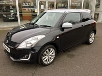 2014 SUZUKI SWIFT 1.2 SZ-L BLACK/WHITE 3 DOOR HATCHBACK 94 BHP £6680.00