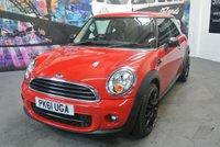 2011 MINI HATCH ONE 1.6 ONE D 3d 90 BHP £6794.00
