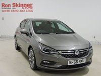 USED 2016 66 VAUXHALL ASTRA 1.6 ELITE NAV CDTI 5d AUTO 134 BHP with front/rear parking sensors