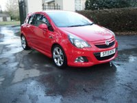 USED 2013 13 VAUXHALL CORSA 1.6 VXR 3d 189 BHP ***LEATHER**SERVICE HISTORY**HPI***