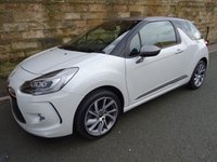 USED 2014 64 CITROEN DS3 1.6 DSTYLE TECHNO 3d 156 BHP
