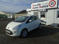 USED 2012 61 FORD KA 1.2 TITANIUM 3d 69 BHP £21 PER WEEK NO DEPOSIT, SEE FINANCE LINK BELOW