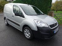 USED 2014 64 PEUGEOT PARTNER  PROFESSIONAL L1 850 1.6 HDI 90Ps Top Of Range Model With Every Extra And Low Mileage!