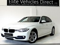 USED 2013 63 BMW 3 SERIES 2.0 320D SPORT 4d