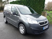 2015 PEUGEOT PARTNER PROFESSIONAL 625 1.6 HDI 90Ps £8495.00